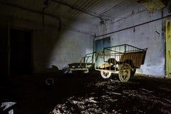 Ex Soviet cold war bunker. Stock Images