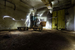 Ex Soviet cold war bunker. Royalty Free Stock Image