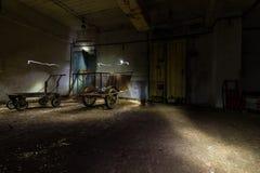 Ex Soviet cold war bunker. Stock Image