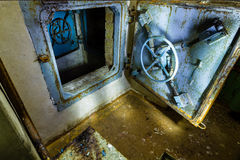 Ex Soviet cold war bunker. stock photography