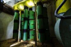 Ex Soviet cold war bunker. Royalty Free Stock Photo