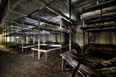 Ex Soviet cold war bunker. Royalty Free Stock Photos