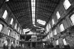 Ex suikerfabriek royalty-vrije stock afbeeldingen