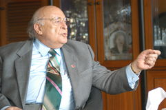 Ex-Turkish President Suleyman Demirel Stock Photography