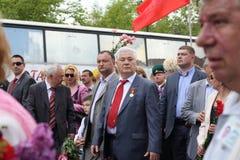 Ex-voorzitter Vladimir Voronin Royalty-vrije Stock Foto