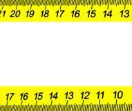 Exact marking. Royalty Free Stock Image