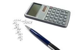 Exact mathematics Stock Photos