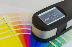 Exact Print Measuring Tool. Spectrophotometer, Exact Print Measuring Tool royalty free stock photography