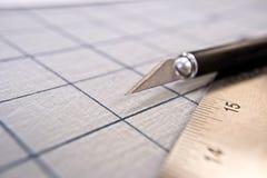 Exacto Knife Stock Photography