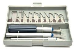 Exacto knife set Stock Photography
