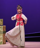 """An exaggerated expression-Kunqu Opera """"the West Chamber"""" Royalty Free Stock Photography"""