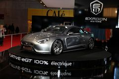 Exagon va in automobile il Furtivo-eGT Immagine Stock