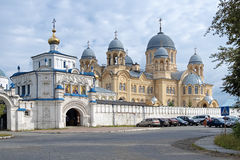 Exaltation of the Holy Cross athedral, Verkhoturye royalty free stock images