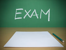 Exam Royalty Free Stock Image
