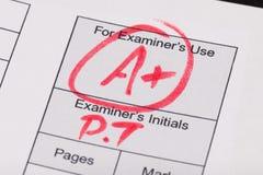 exam fotografie stock libere da diritti