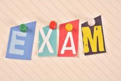 exam Fotos de Stock Royalty Free