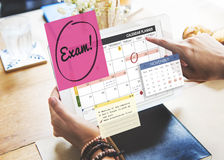 Exam Education To Do Review School Schedule Concept Royalty Free Stock Photo