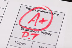 Exam Royalty Free Stock Photos