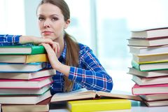 Before exam Royalty Free Stock Images
