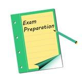 Exam preparation Stock Image