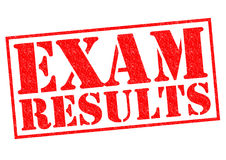EXAM RESULTS Royalty Free Stock Photography