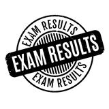Exam Results rubber stamp Stock Image