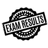 Exam Results rubber stamp Stock Photo