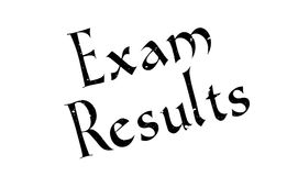 Exam Results rubber stamp Royalty Free Stock Photo