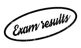 Exam Results rubber stamp. Grunge design with dust scratches. Effects can be easily removed for a clean, crisp look. Color is easily changed Stock Image