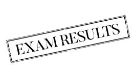 Exam Results rubber stamp Royalty Free Stock Images