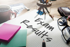 Exam Results School Examination Review Assessment Concept Stock Images