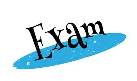 Exam rubber stamp Stock Photo