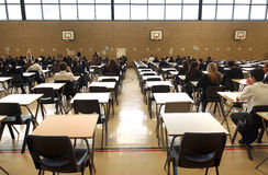 Exam time Stock Photography