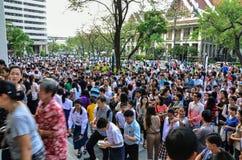 exame de entrada de espera de 4.200 estudantes Foto de Stock