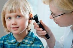 Exame médico Foto de Stock