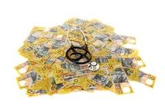 Exame médico completo financeiro Imagens de Stock