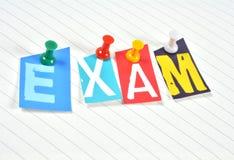 examen Stock Fotografie
