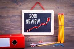 Examen 2018 blanc de réussite d'isolement par concept d'affaires Image stock