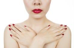 Examen de cancer du sein Photo libre de droits