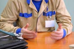 Examen de patient médical. photos stock
