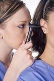 Examen del oído Foto de archivo libre de regalías