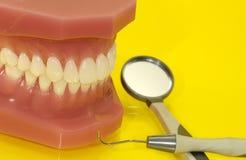 Examen dentaire image stock