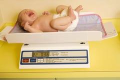 Examen infantile de santé Images stock