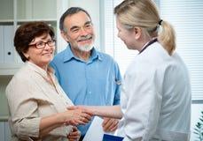 Examen médical Image stock