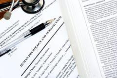 Examen médico Fotografía de archivo libre de regalías