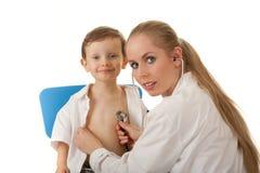 Examen médico Fotos de archivo