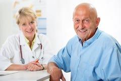 Examen médico Imágenes de archivo libres de regalías