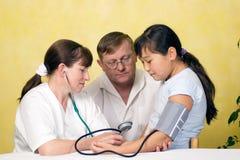 Examen médico. Fotografía de archivo libre de regalías