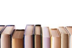 Examenvoorbereiding: Het gebruik van boeken voor zelf Stock Foto's