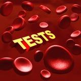 Exames médicos Imagem de Stock Royalty Free